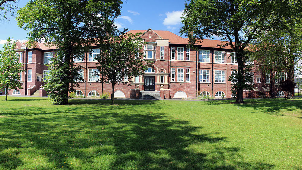 Levenshulme High School building